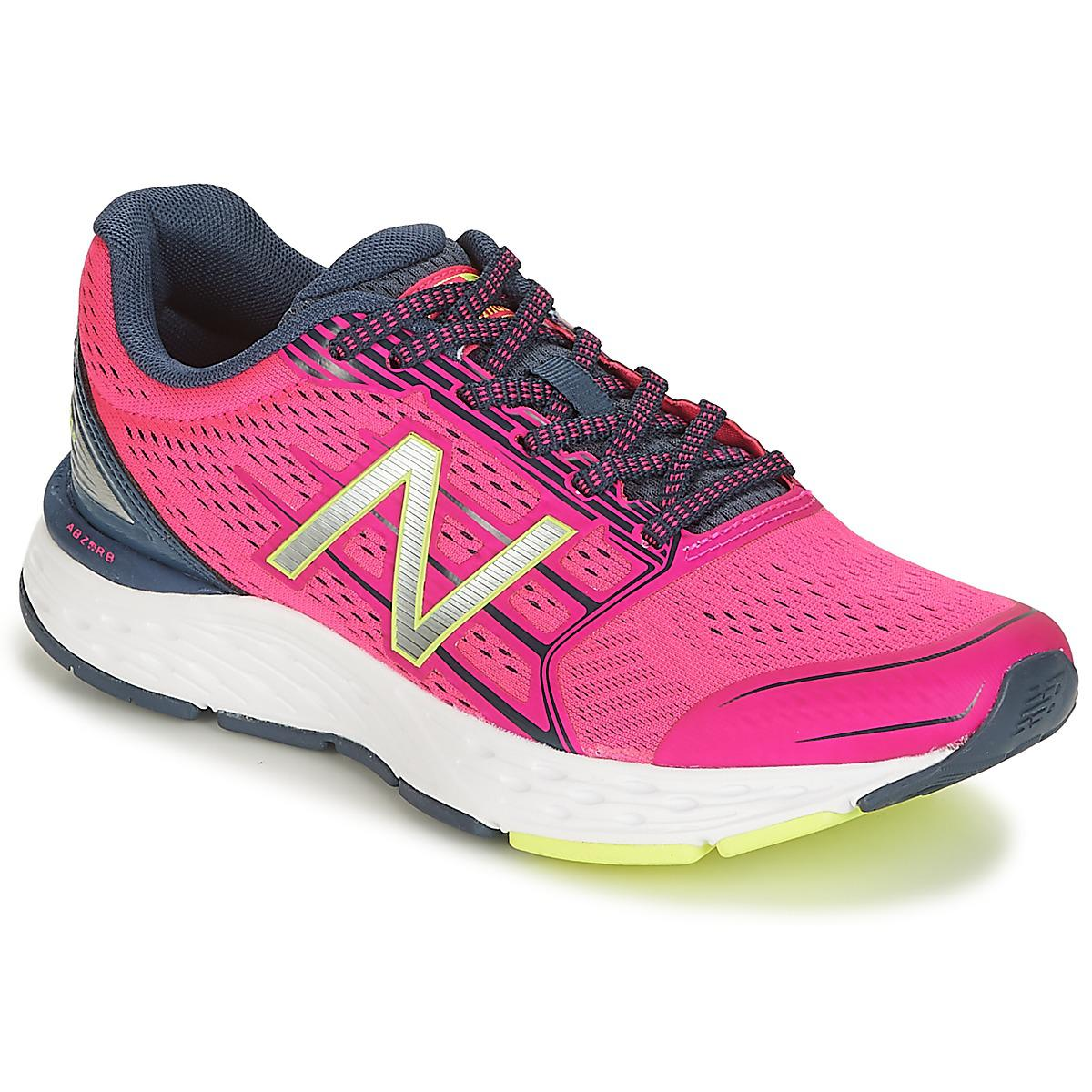 e21d85661b08 New Balance 680 Running Trainers in Pink - Lyst