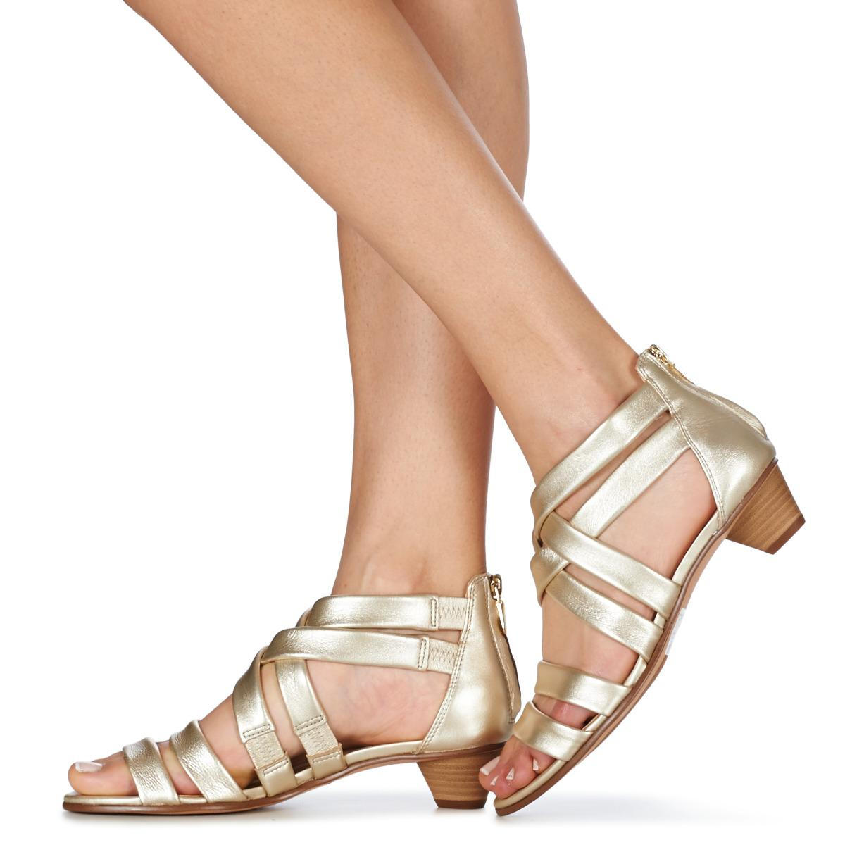 100% authentic reputation first soft and light Metallic Mena Silk Women's Sandals In Silver