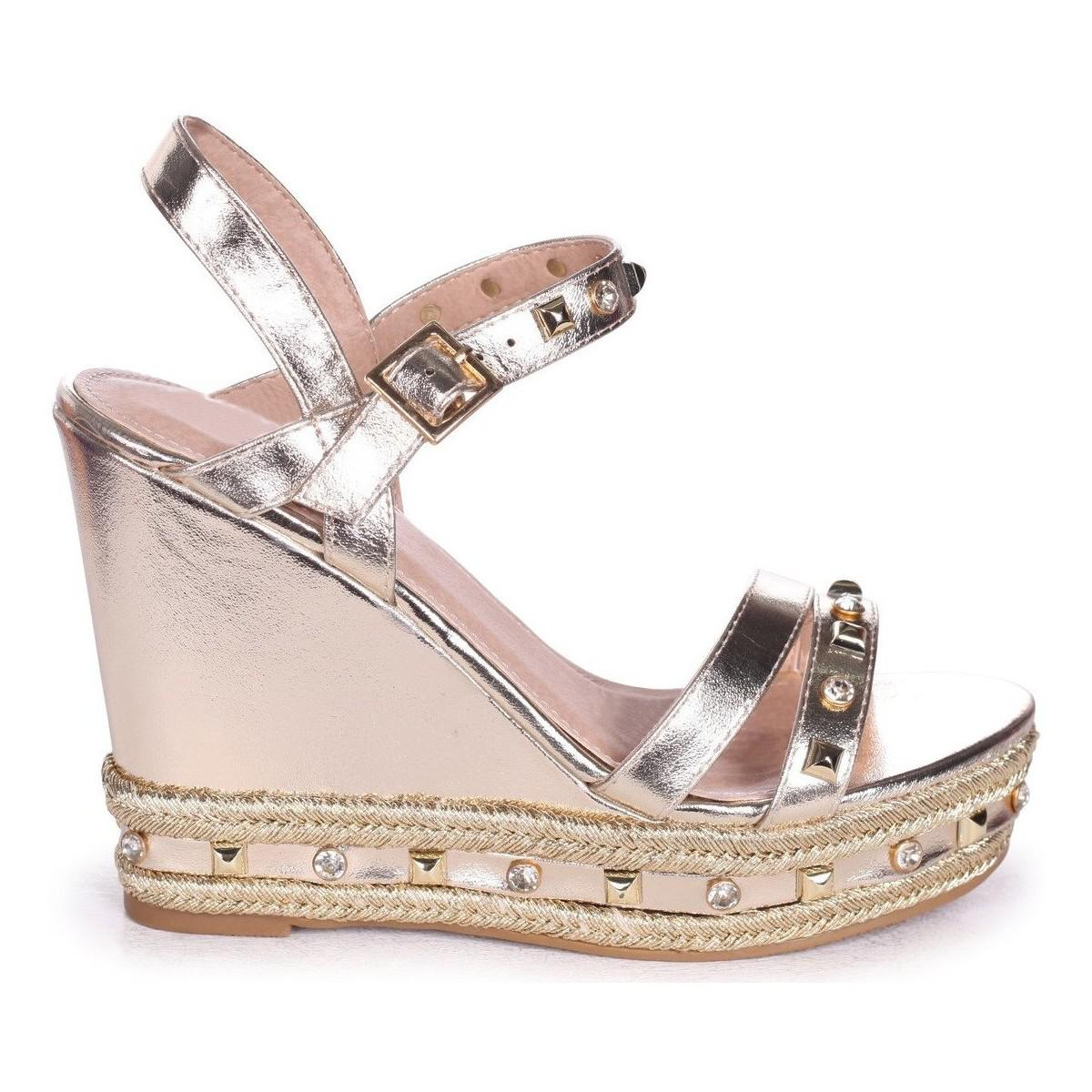 46c21ae0768 Linzi Carmen Women s Sandals In Gold in Metallic - Lyst