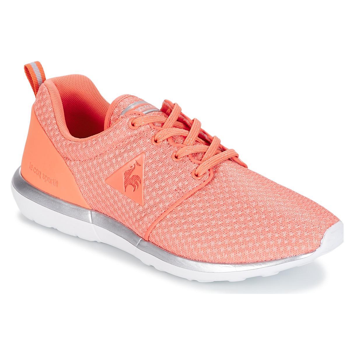 147dc999cf2b Le Coq Sportif Dynacomf W Feminine Mesh metallic Women s Shoes ...