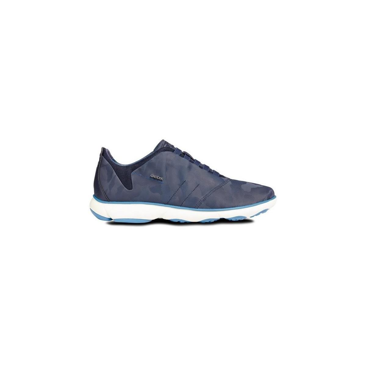 e7787317575 Geox Nebula Man Men s Shoes (trainers) In Multicolour in Blue for ...