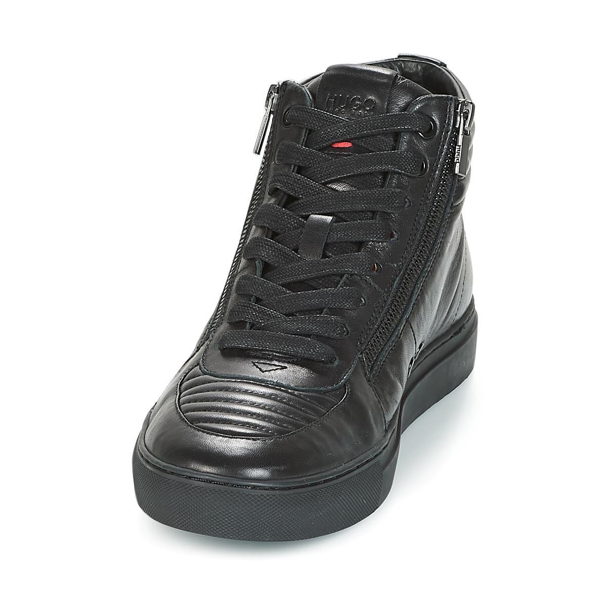 FUTURISM HITO MTZP1 hommes Chaussures en Noir HUGO pour