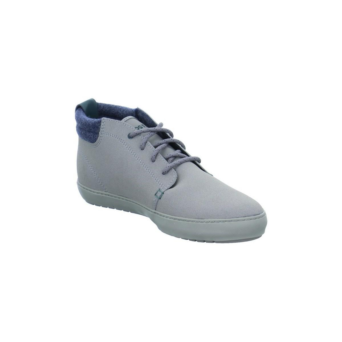 1e813c757 Lacoste Ampthill Terra Men s Shoes (high-top Trainers) In Grey in ...
