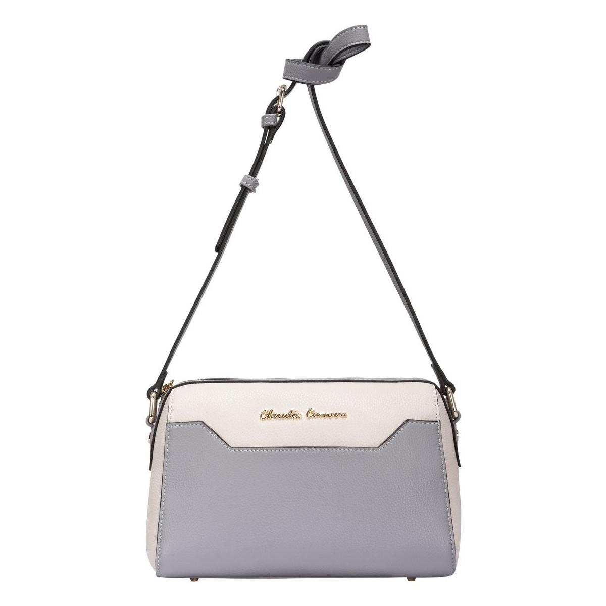 Claudia Canova Zip Top Cross Body Bag Women s Shoulder Bag In Grey ... daec0a76ec3f8