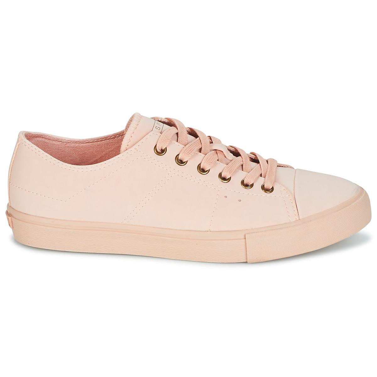 Lyst Up Lace 0vqywdb Chaussures Femme En Baskets Rose Sonet Esprit wrHqrYxt4