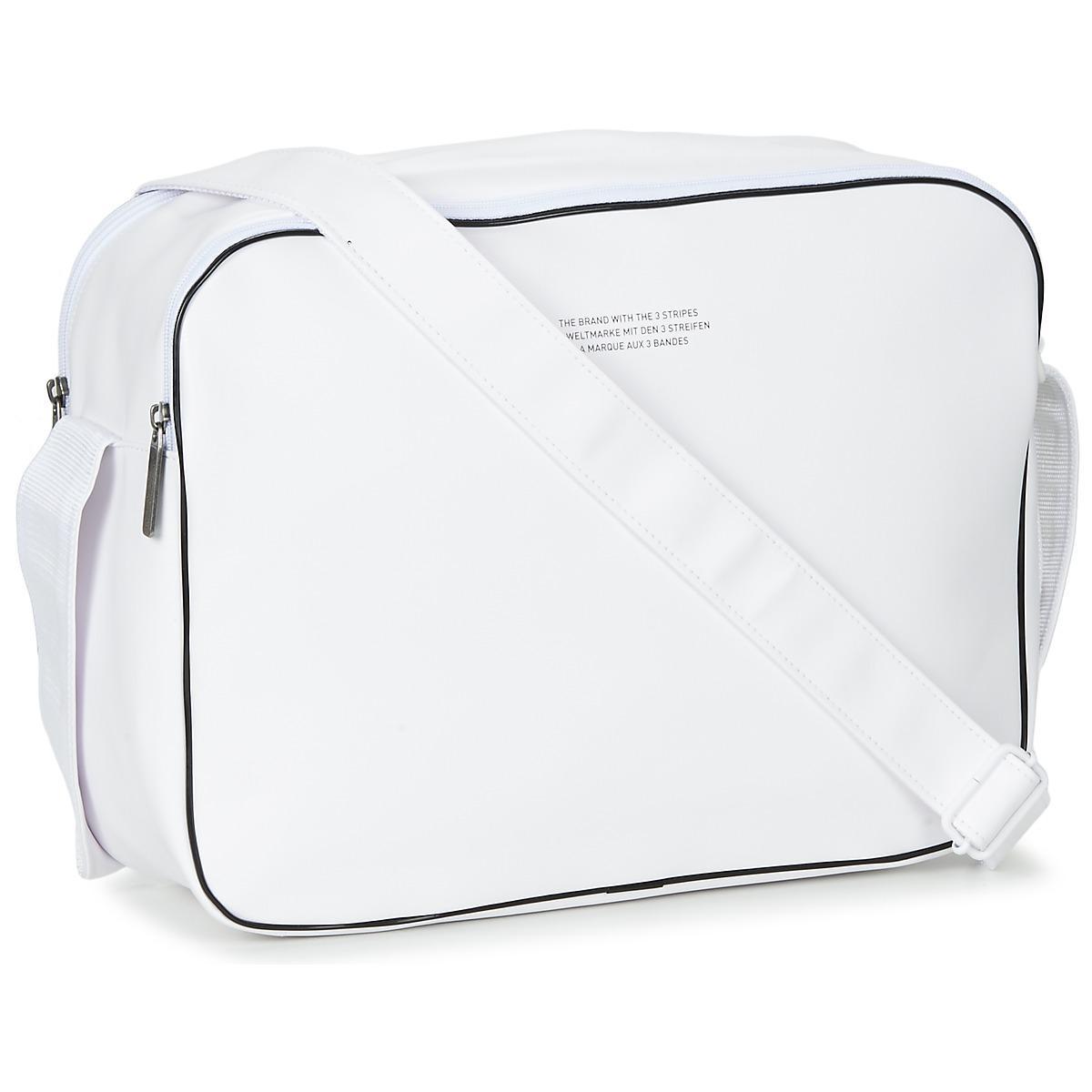 6dfecb6c3358 adidas Airliner Vintage Men s Messenger Bag In White in White for ...