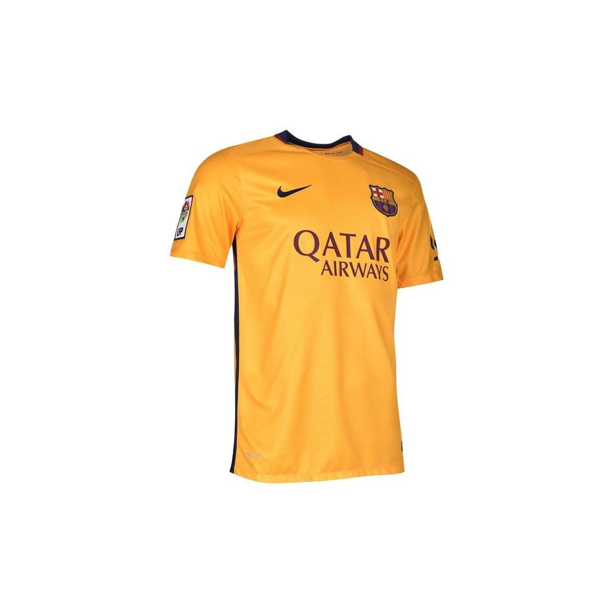 Nike 2015-16 Barcelona Away Shirt (iniesta 8) - Kids Women s T Shirt ... 1b77d8d3a1