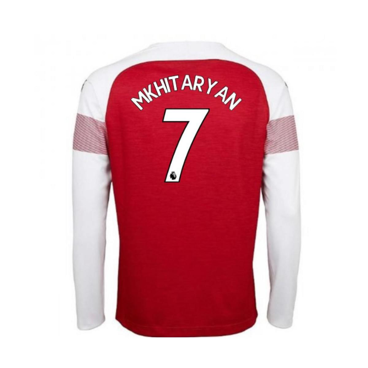 381e105608f PUMA 2018-2019 Arsenal Home Long Sleeve Shirt (mkhitaryan 7) Women s ...