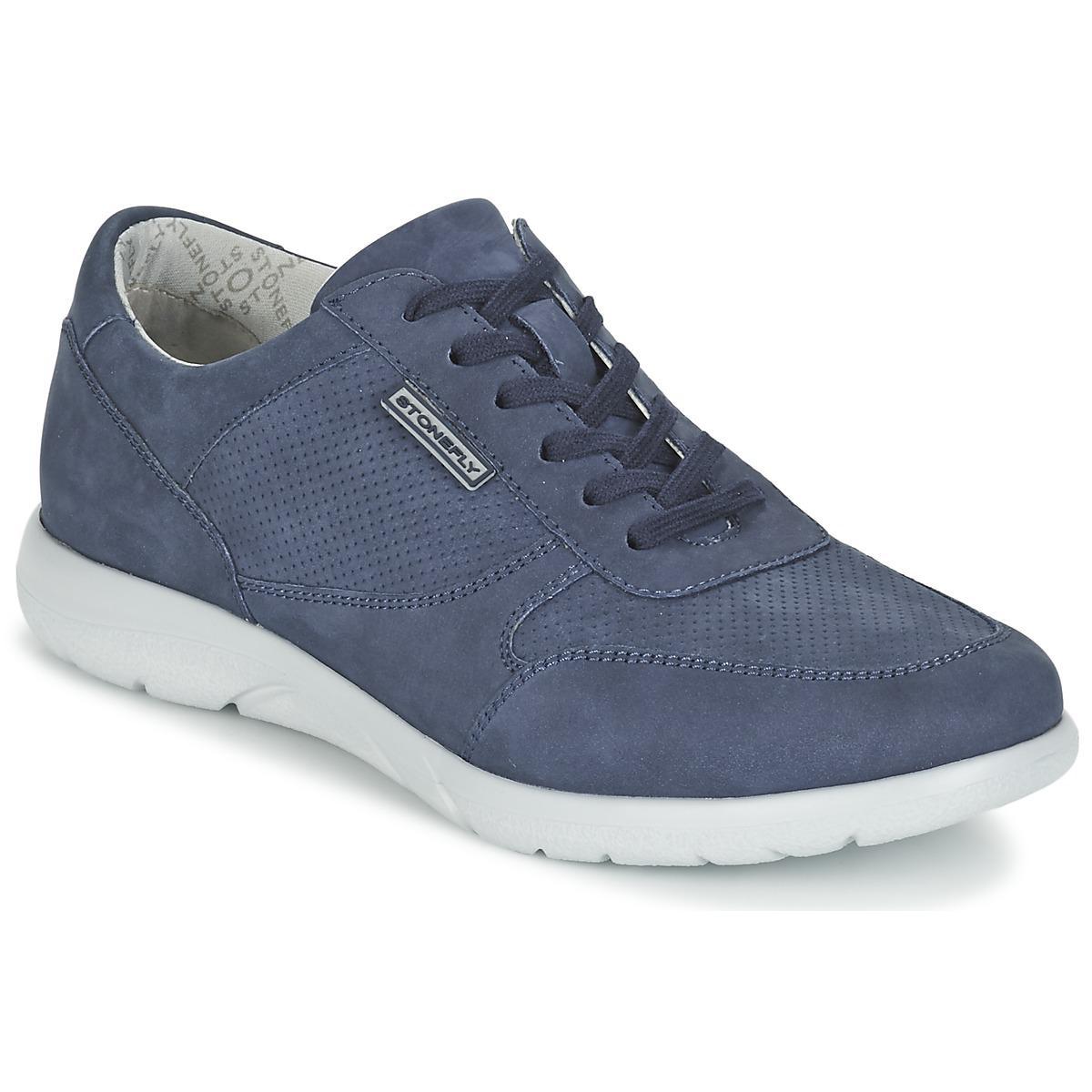 l'homme de femmes l'espace des chaussures pour femmes de (formateurs) en bleu en bleu le catalyseur 7579e1