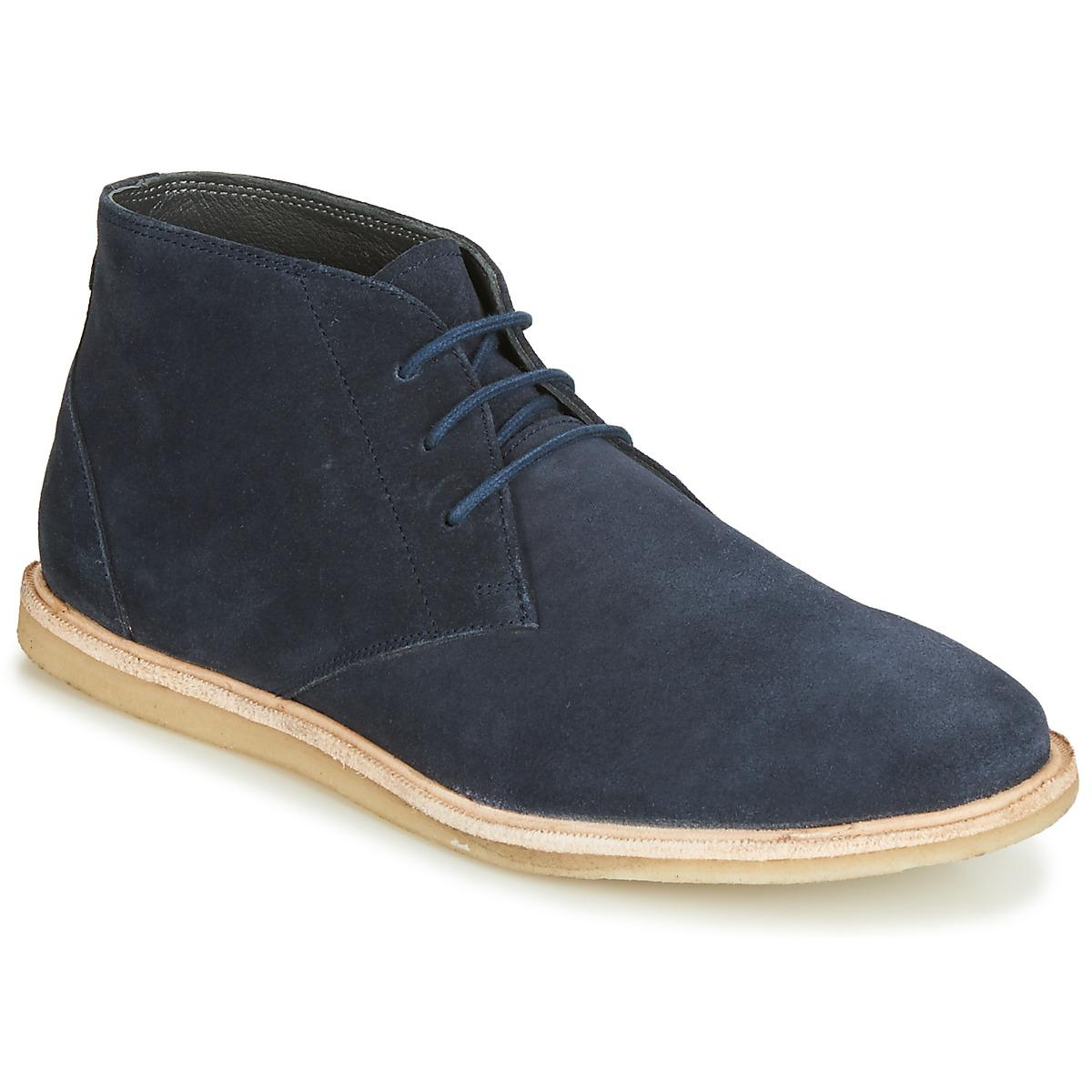 eb6879a894a Frank Wright Baxter Men's Mid Boots In Blue in Blue for Men - Lyst