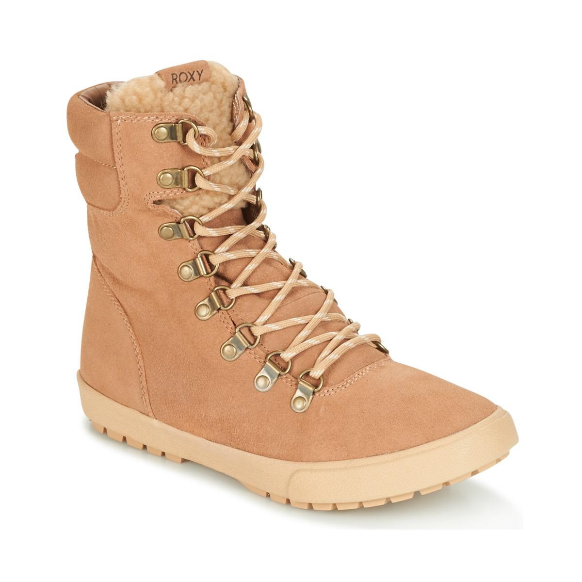 1a408ea9307480 Roxy Anderson J Boot Rus Women's Mid Boots In Beige in Natural - Lyst