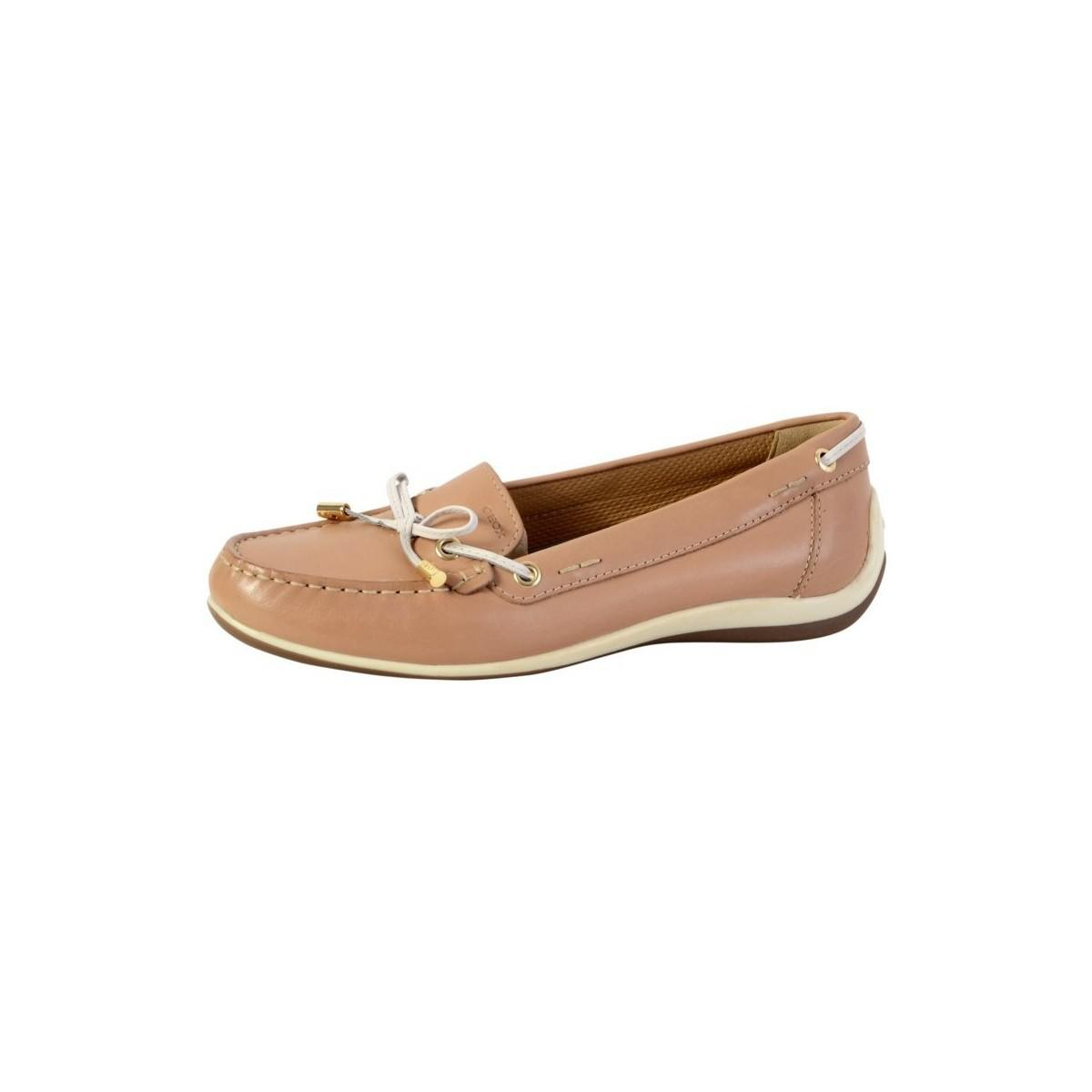 d0dab04e358 Geox Shoes Yuki Lt Taupe D6455a 00043 C6738 Women s Loafers   Casual ...