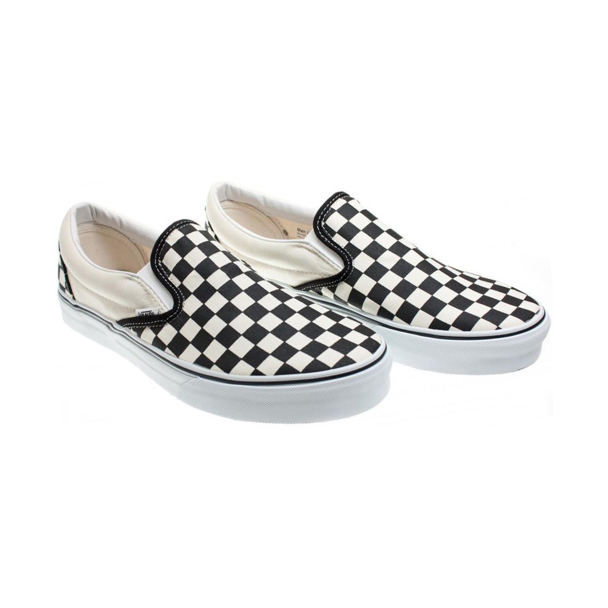 090984b5b5 Vans - Classic Black And Cream Checkerboard Slip-on Trainers - Womens Uk 7  -. View fullscreen