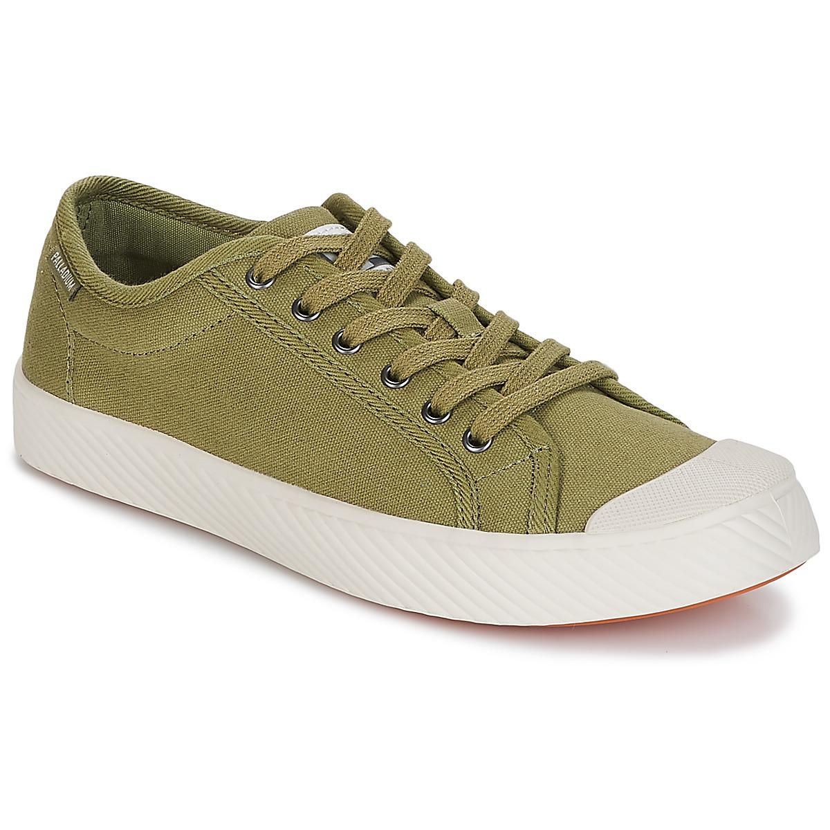7984db592d Palladium Pallaphoenix Og Cvs Women s Shoes (trainers) In Green in ...