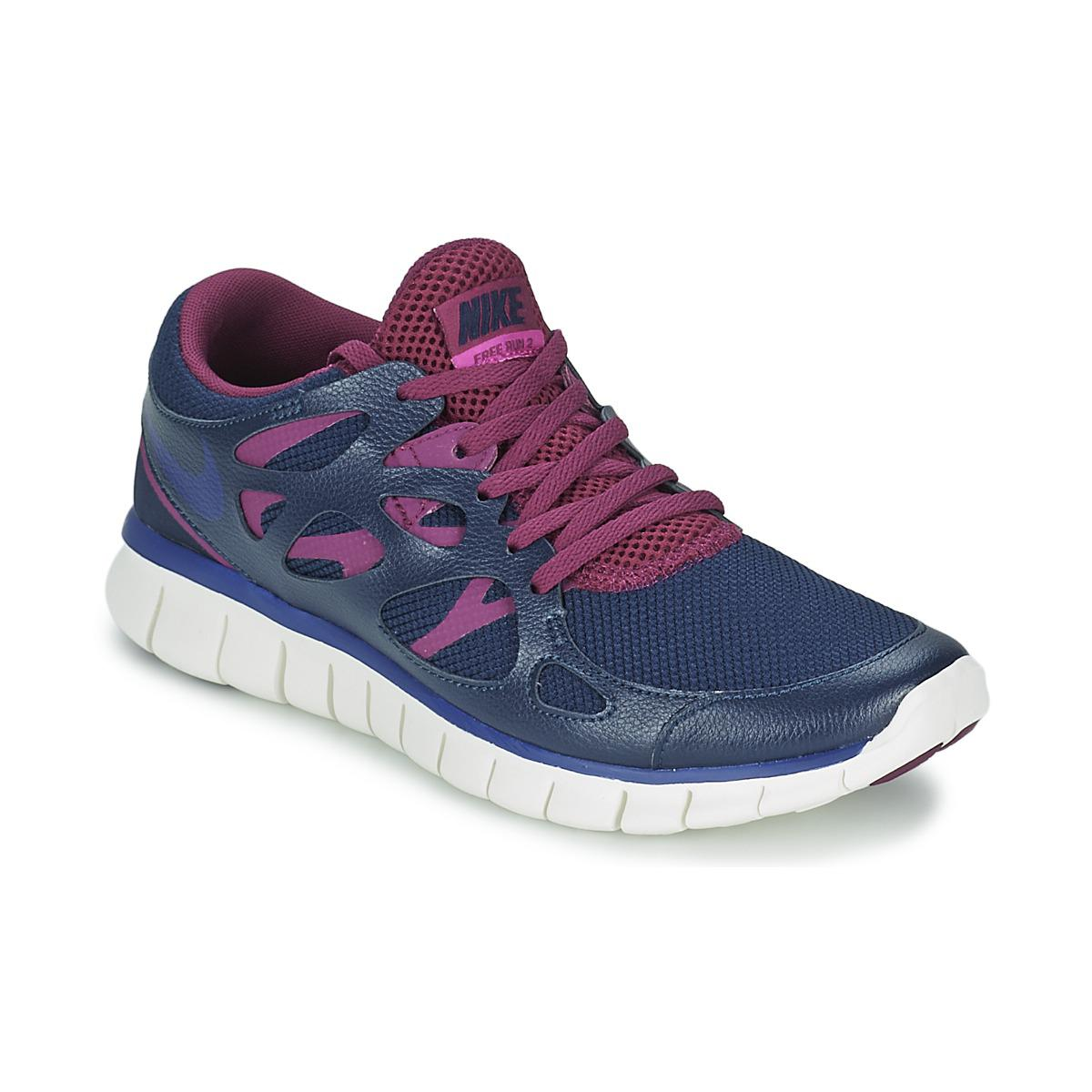 ee4da77b9ccc8 Nike Free Run 2 Ext Women s Shoes (trainers) In Blue in Blue - Lyst