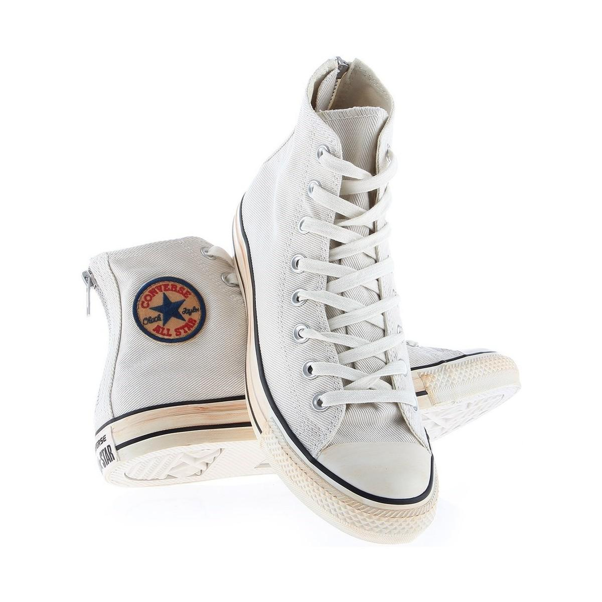 4491c60bfa01 Converse Chuck Taylor All Star Back Zip Turtledove Men s Shoes (high ...