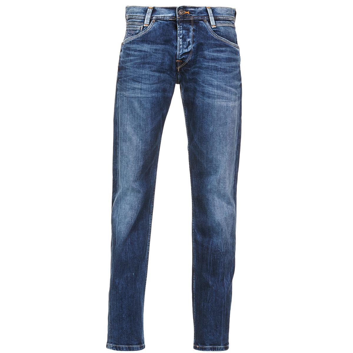 6b493f3baff Pepe Jeans Spike Men s Jeans In Blue in Blue for Men - Lyst