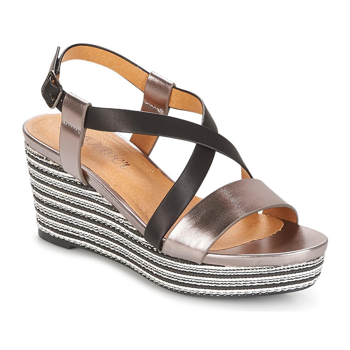 a4996b11fe S.oliver - Loupiole Women's Sandals In Black - Lyst. View fullscreen