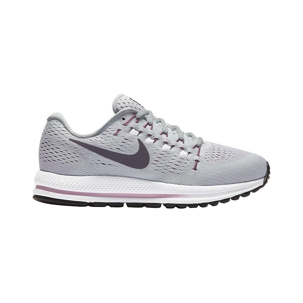 Lyst Nike Wmns Air Zoom Vomero 12 Zapatos Mujer De Mujer Zapatos Instructores En Gris 6e4111