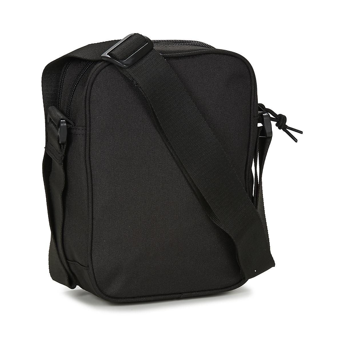 dd86c53880 Converse - Core Poly Cross Body Men s Pouch In Black for Men - Lyst. View  fullscreen