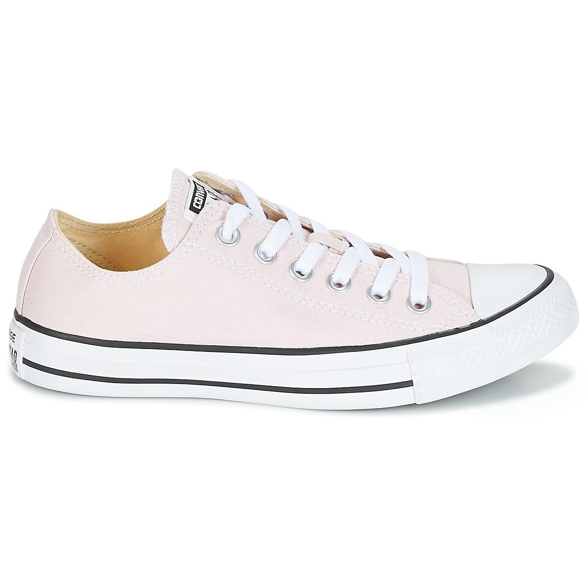 ce7d0c32970ffc Converse - Pink Chuck Taylor All Star Ox Seasonal Colors Shoes (trainers) -  Lyst. View fullscreen