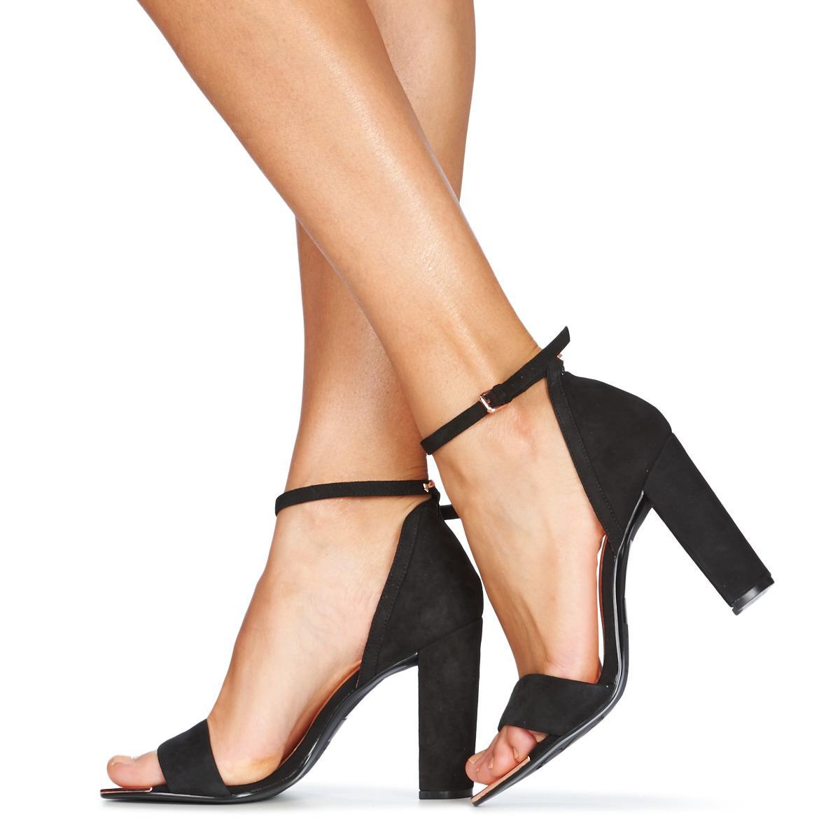 10f82009b Ted Baker - Phanda Women s Court Shoes In Black - Lyst. View fullscreen