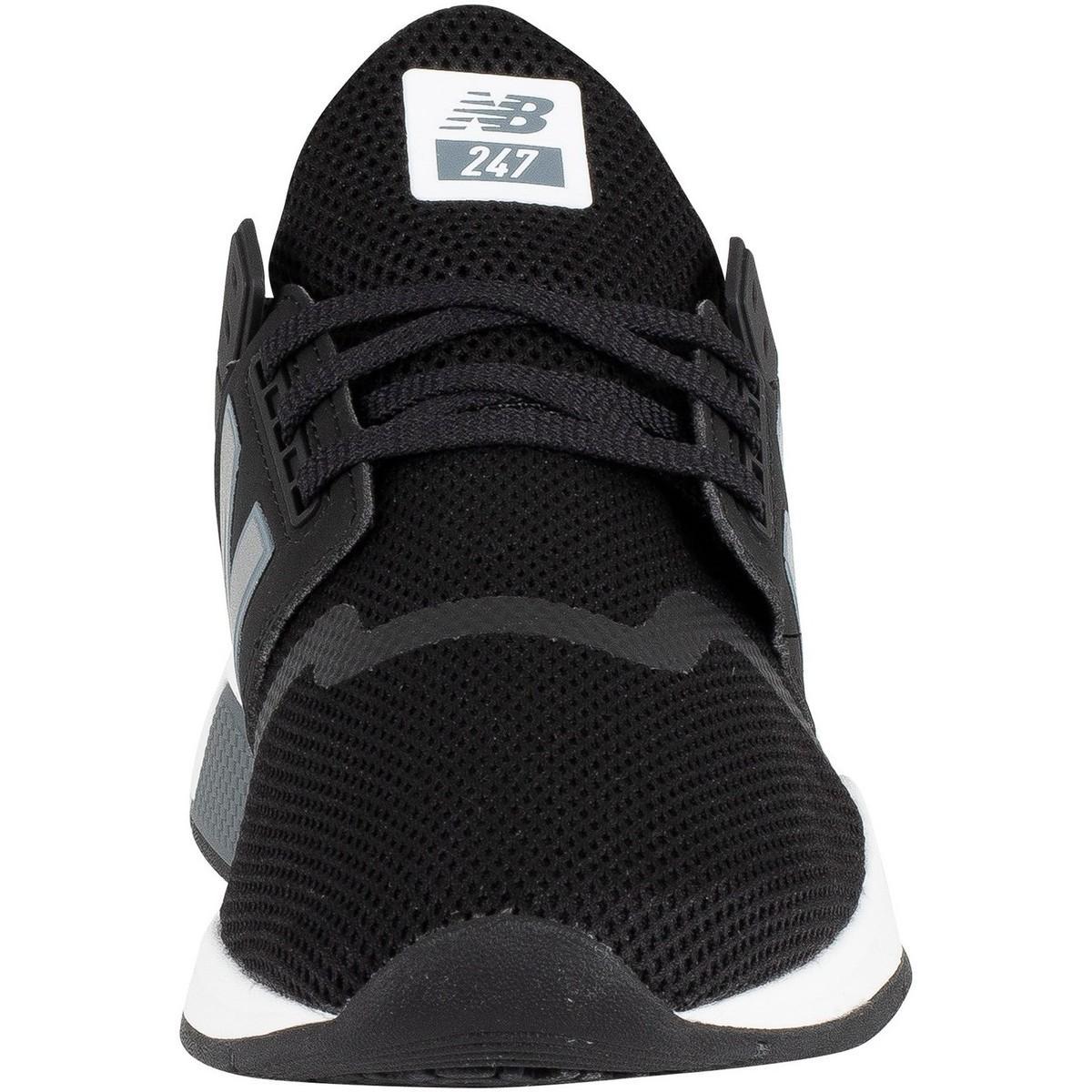 fbfe918644c2a Homme 247 Entraîneurs, Noir hommes Chaussures en Noir New Balance pour homme  en coloris Noir - Lyst
