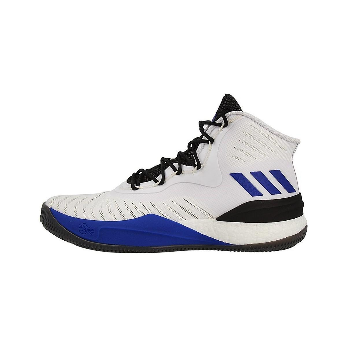 033a1648e7d0 Adidas D Rose 8 Men s Shoes (high-top Trainers) In White in White ...