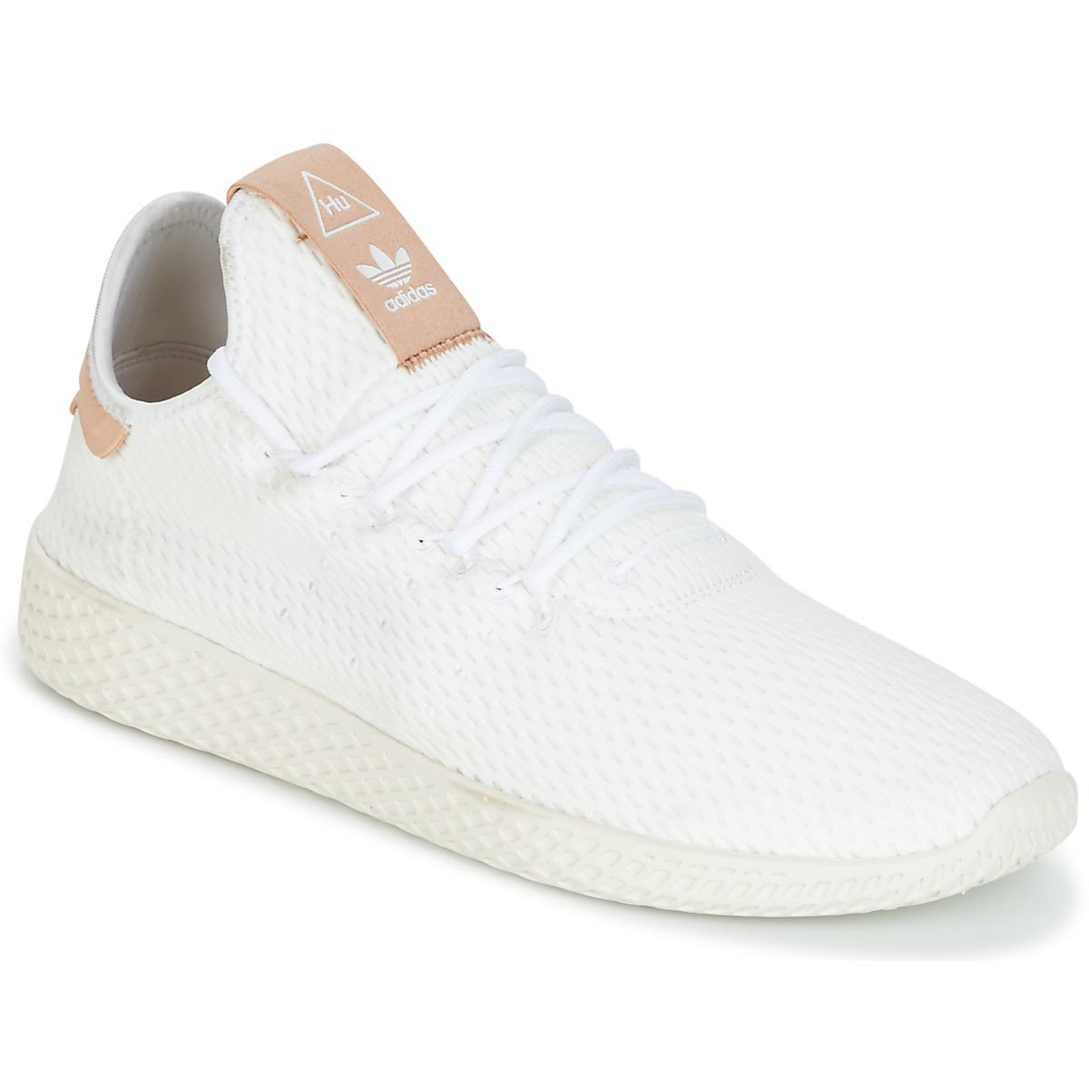 21bebfbc9c951 adidas Pharrell Williams Tennis Hu Women s Shoes (trainers) In White ...