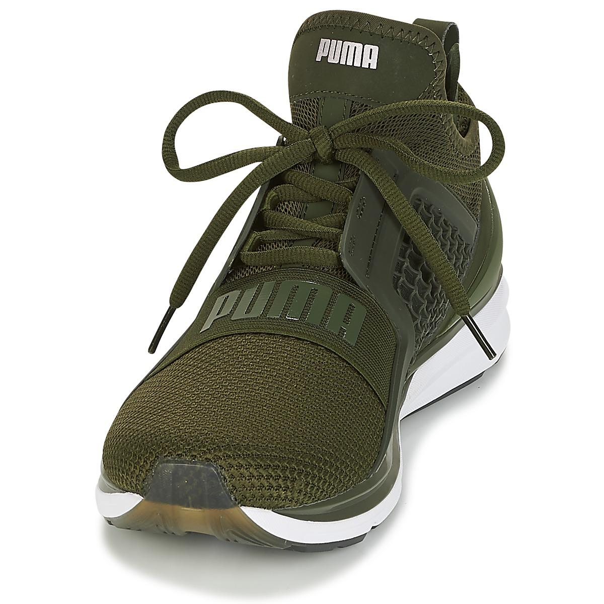 PUMA - Ignite Limitless Weave Men s Running Trainers In Green for Men -  Lyst. View fullscreen 9b09fd82c