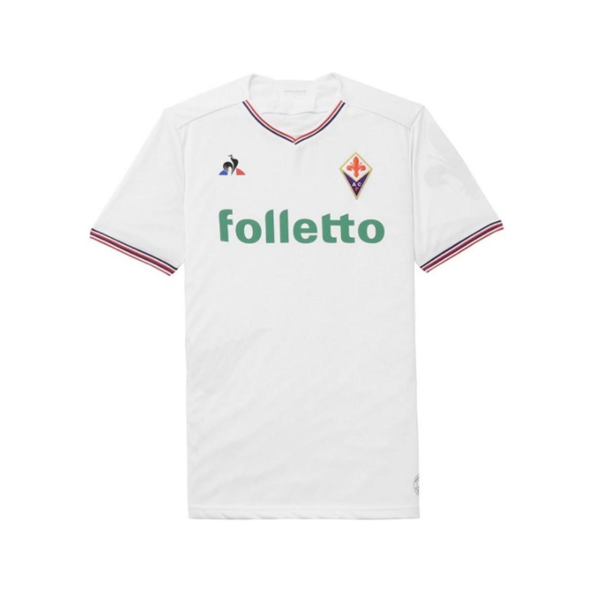 4a924cd72e3 Le Coq Sportif 2017-18 Fiorentina Away Shirt (batistuta 9) - Kids ...