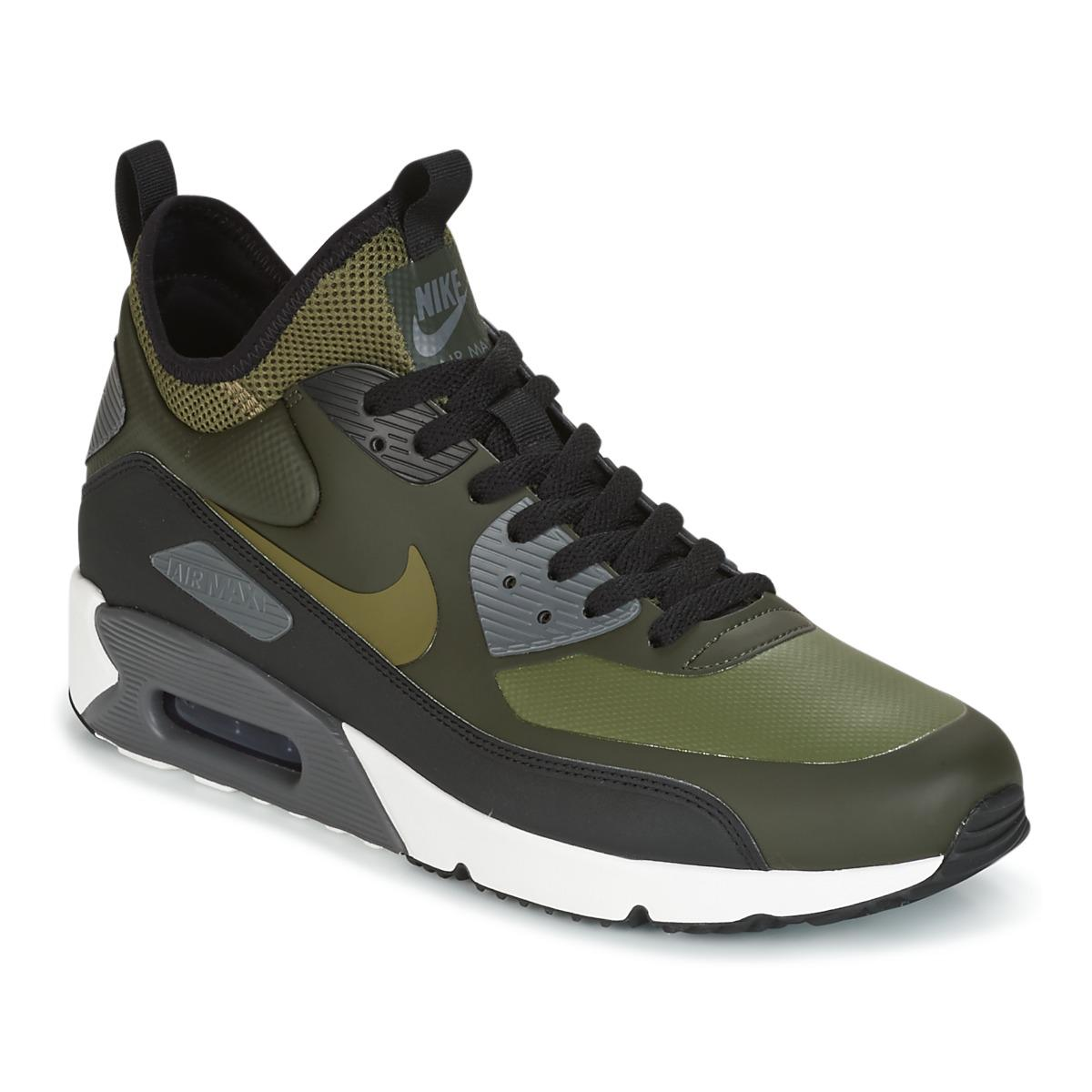 buy popular 5631e 2a3d7 Nike Air Max 90 Ultra Mid Winter Men's Shoes (high-top Trainers) In ...