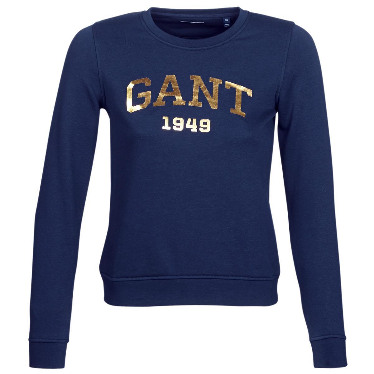 Logo Women s Blue Fullscreen Gant Gift Lyst Sweatshirt View Giving In Sweat  qwn6ExCIgZ 418e1e5b132