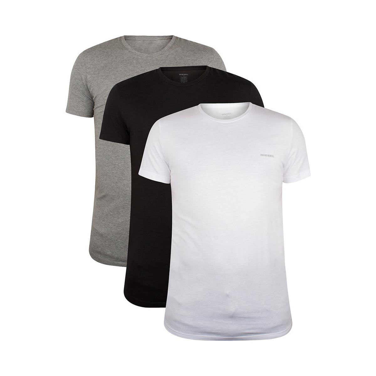 50 100 PACK FRUIT OF THE LOOM MENS PLAIN WHITE BLACK T-SHIRT LOT WHOLESALE BULK