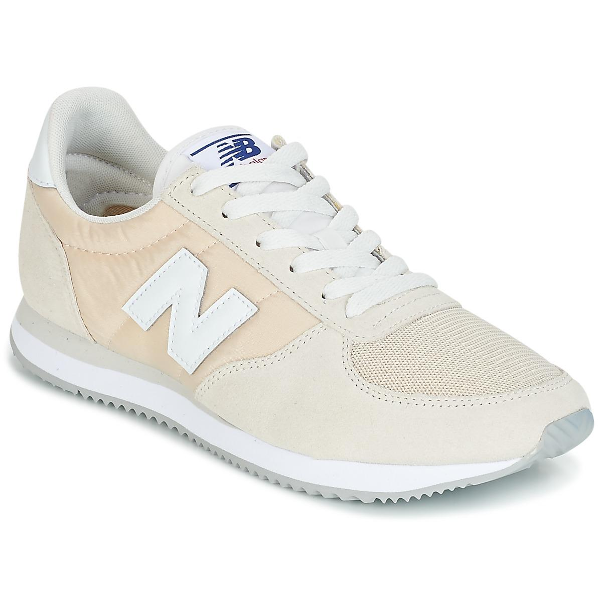 Discount New Balance U220 Beige Trainers for Men On Sale
