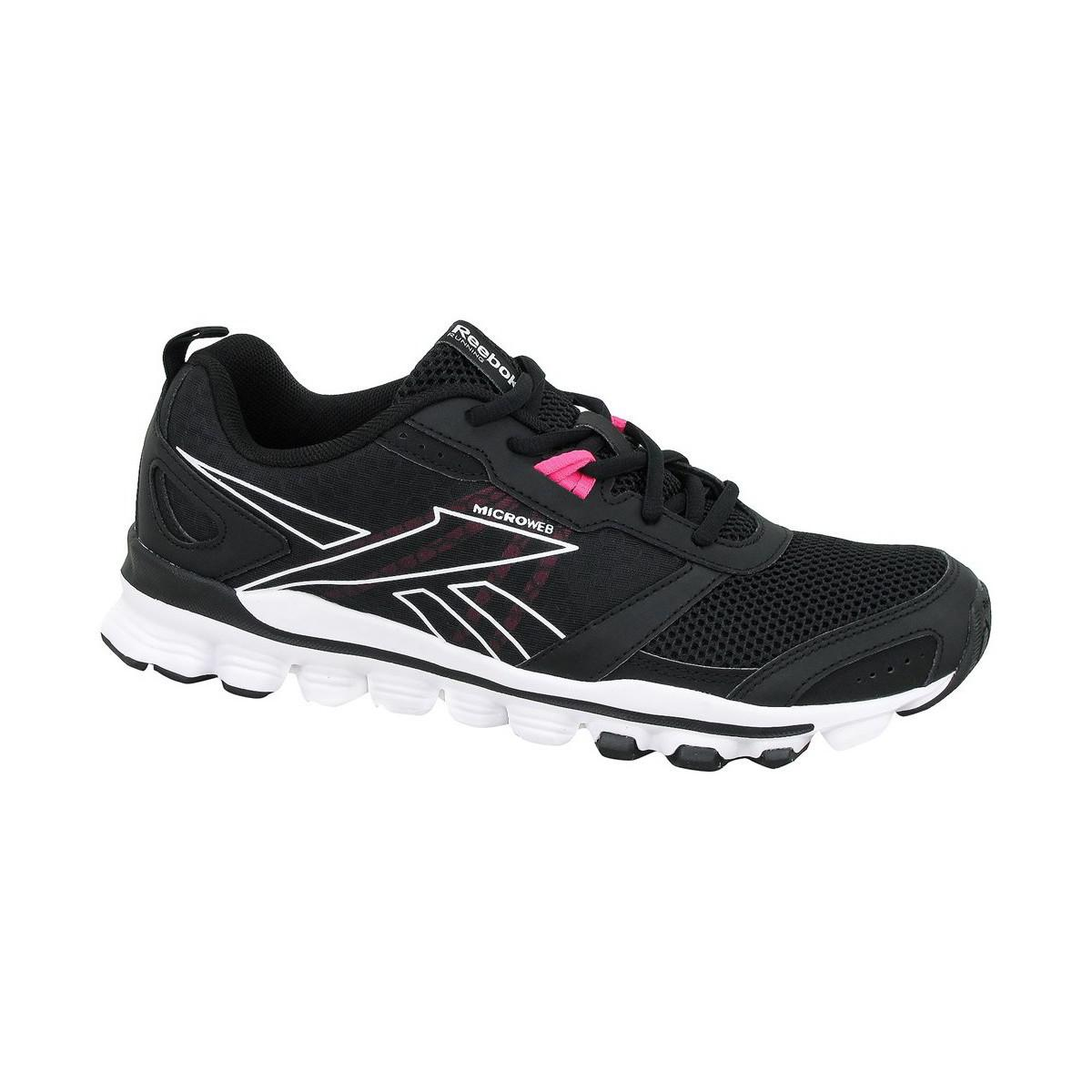 Reebok - Hexaffect Run Le Women s Shoes (trainers) In Black - Lyst. View  fullscreen e8f253709