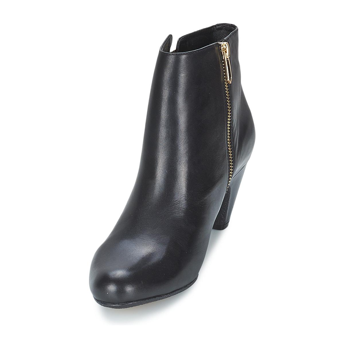 a8415d90f03d72 Sam Edelman Marmont Women s Low Ankle Boots In Black in Black - Lyst