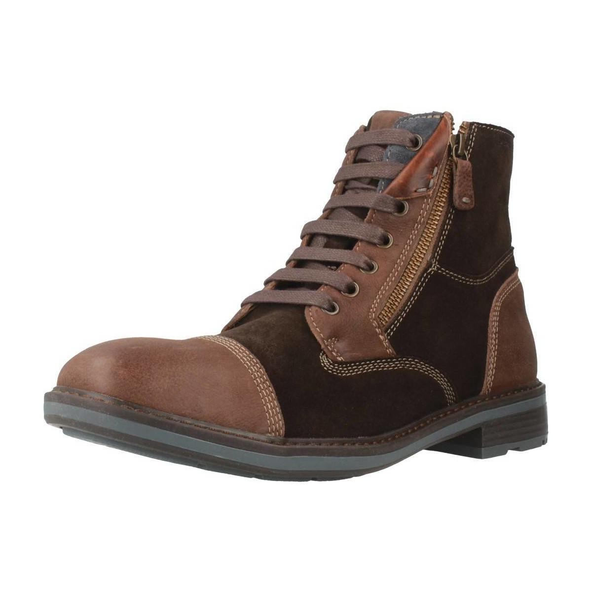 Geox U Rickmove Men's Mid Boots In Brown in Brown for Men Lyst