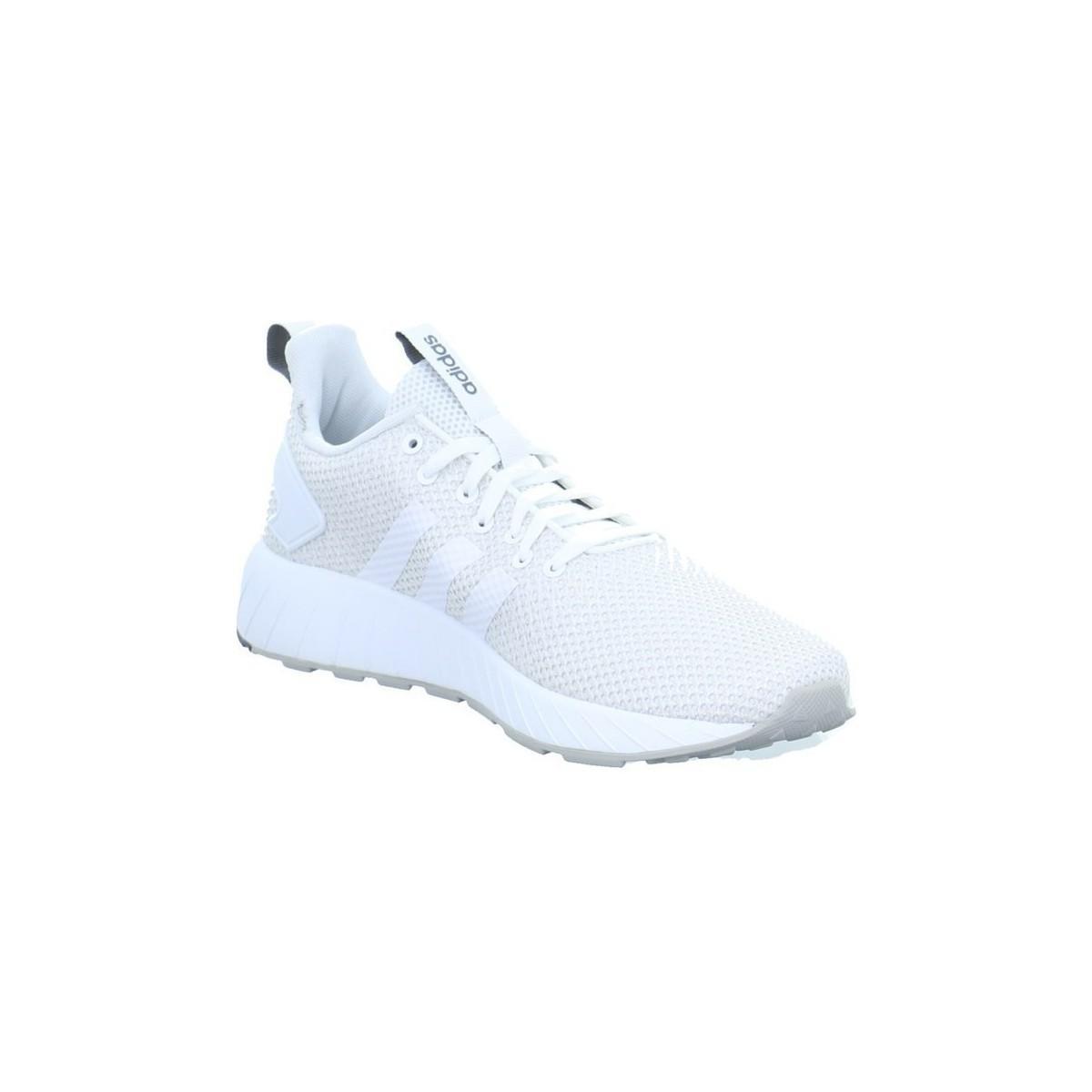 Lyst adidas questar da scarpe da uomo (formatori) in bianco in bianco.