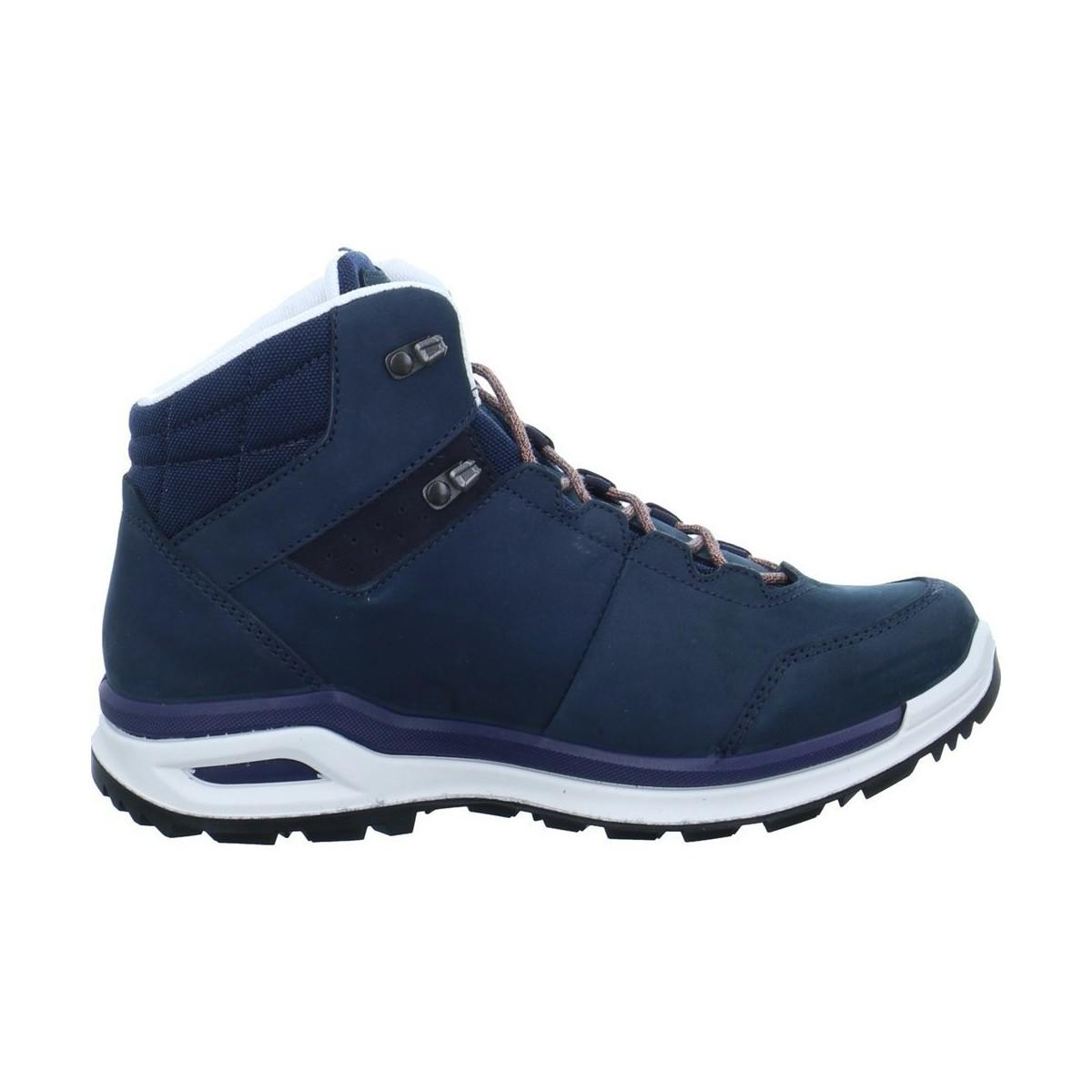 2020445741 Lowa Locarno Gtx Qc Men s Shoes (high-top Trainers) In Blue in Blue ...