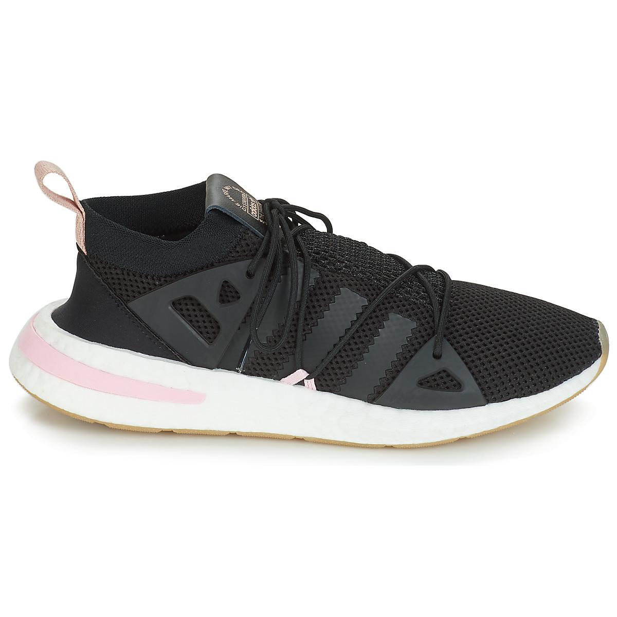new concept 1a2db db1b1 Adidas - Arkyn W Womens Shoes (trainers) In Black - Lyst. View fullscreen