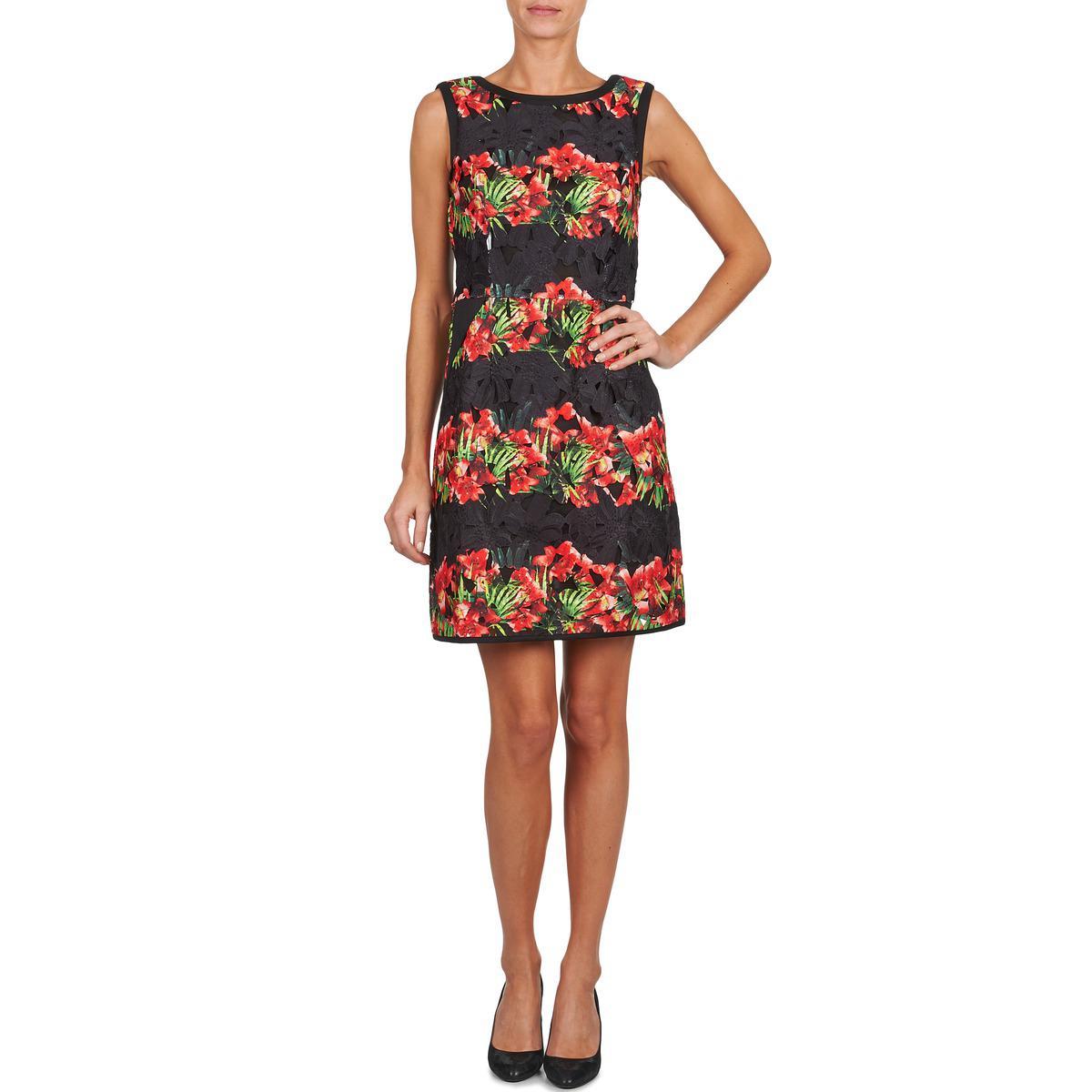 Womens tain Short Sleeve Dress Derhy cYJ83LLEn