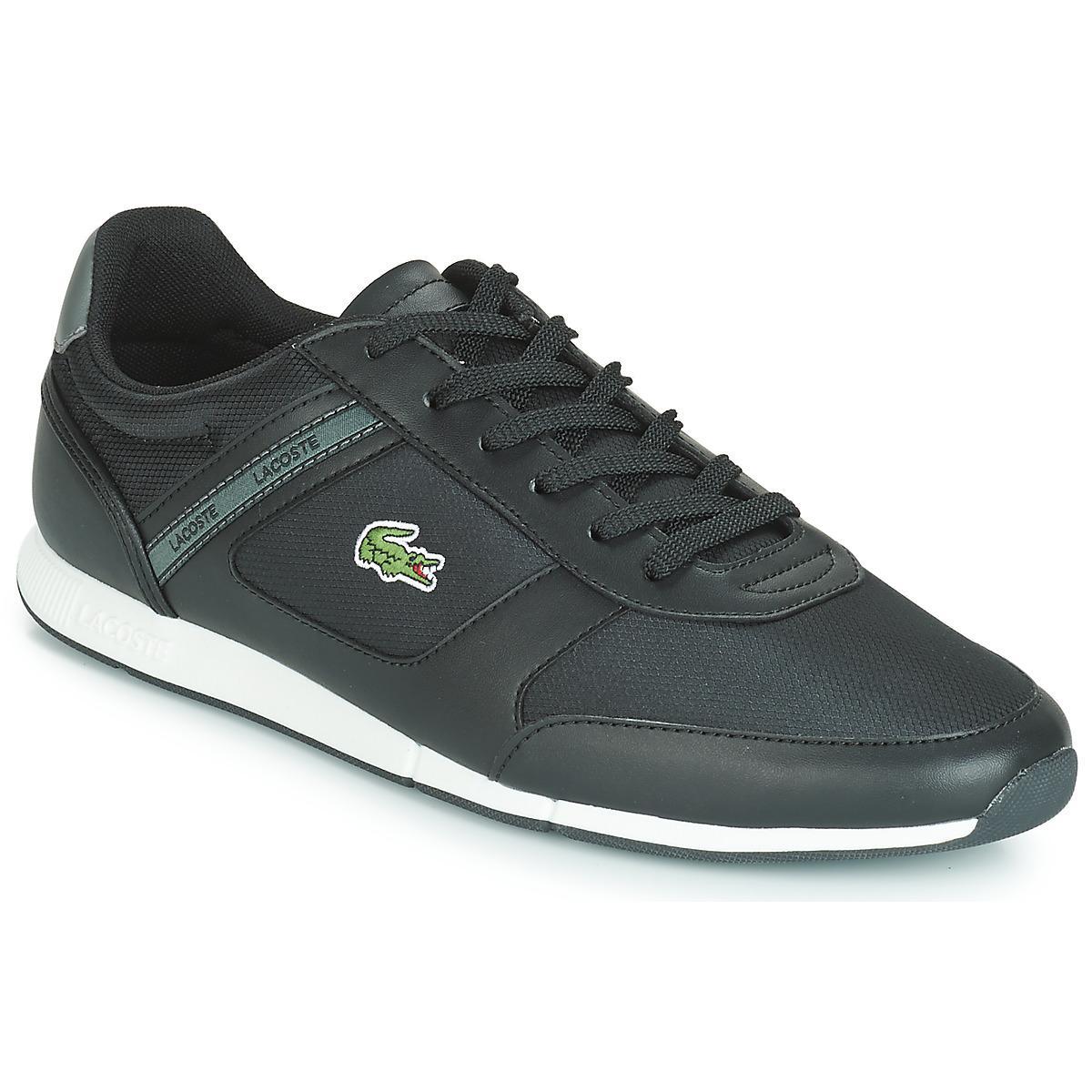 608aeb73b Lacoste Menerva Sport 119 1 Men s Shoes (trainers) In Black in Black ...