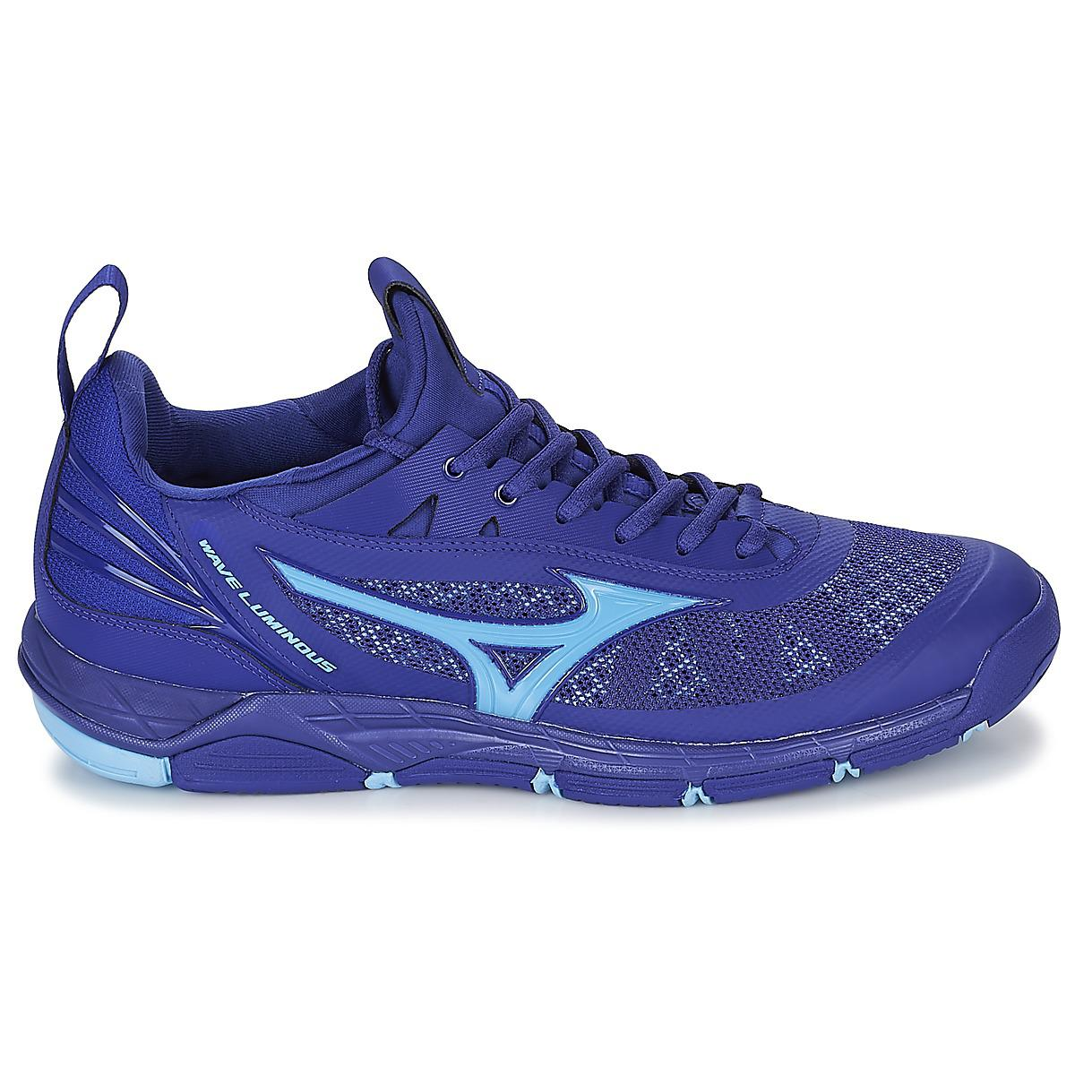 691dc7b30e320 Mizuno Wave Luminous Indoor Sports Trainers (shoes) in Blue for Men ...
