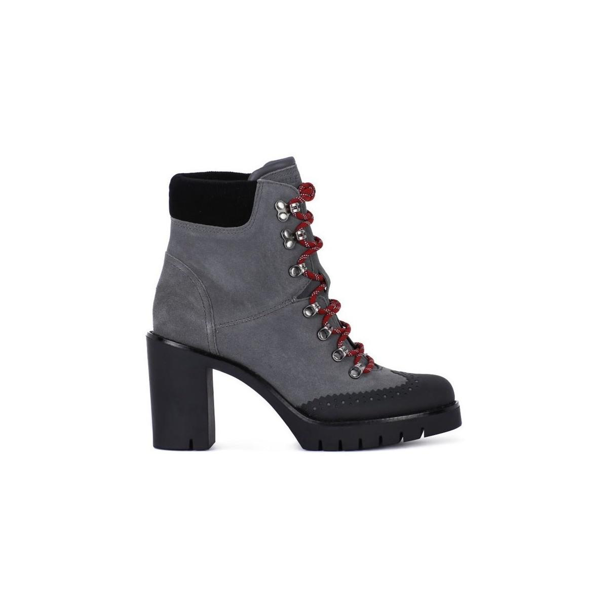 d8308c5c8 Tommy Hilfiger Fw03057008 Women s Low Boots In Grey in Gray - Save ...