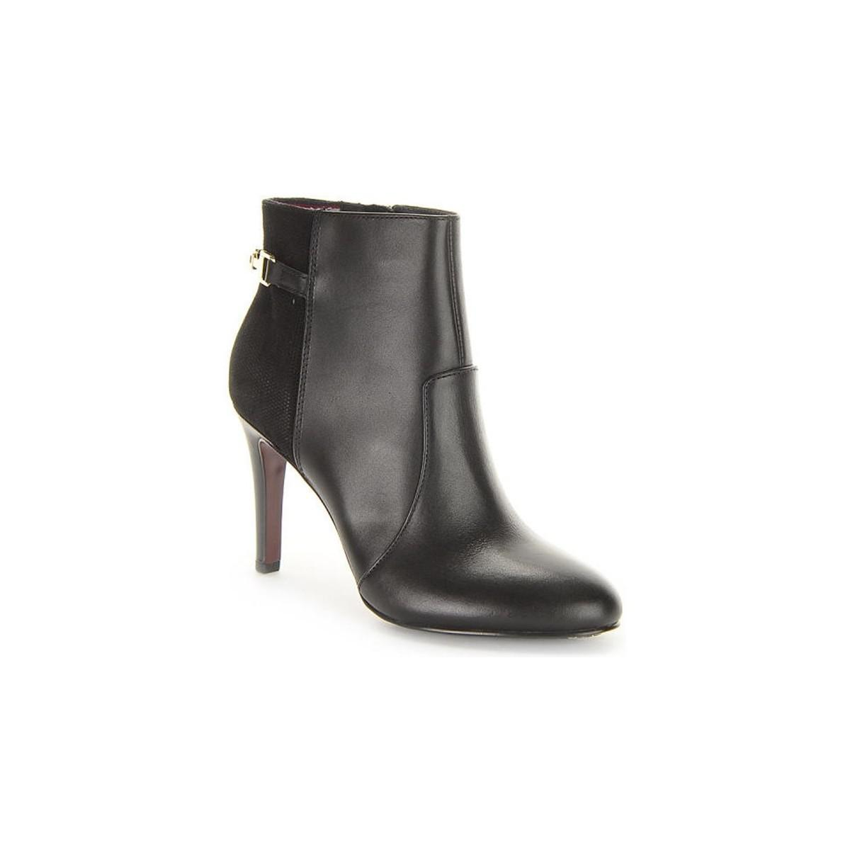 f98abad3 Tommy Hilfiger Layla 22c Women's Low Ankle Boots In Black in Black ...