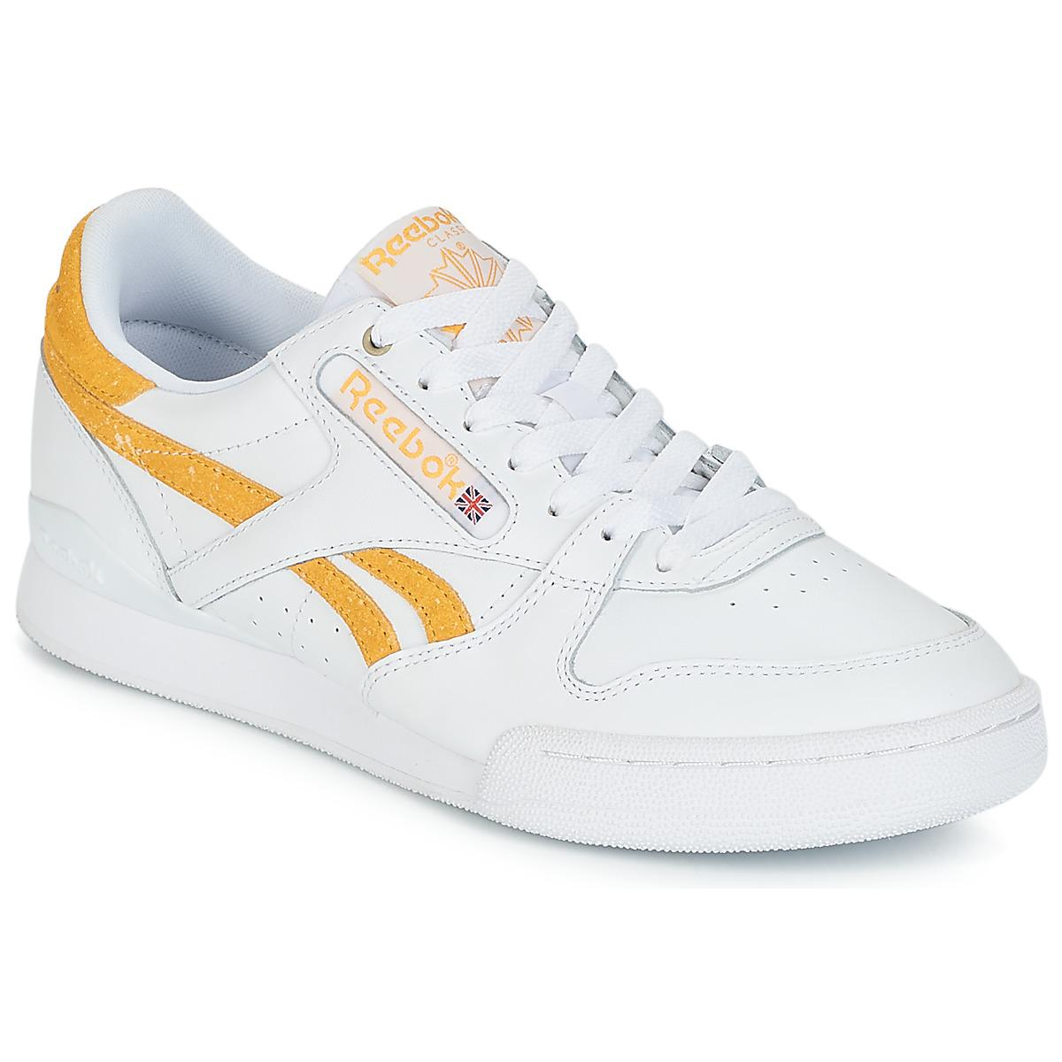 3e4ee91999fbd Reebok Phase 1 Pro Mu Men s Shoes (trainers) In White in White for ...