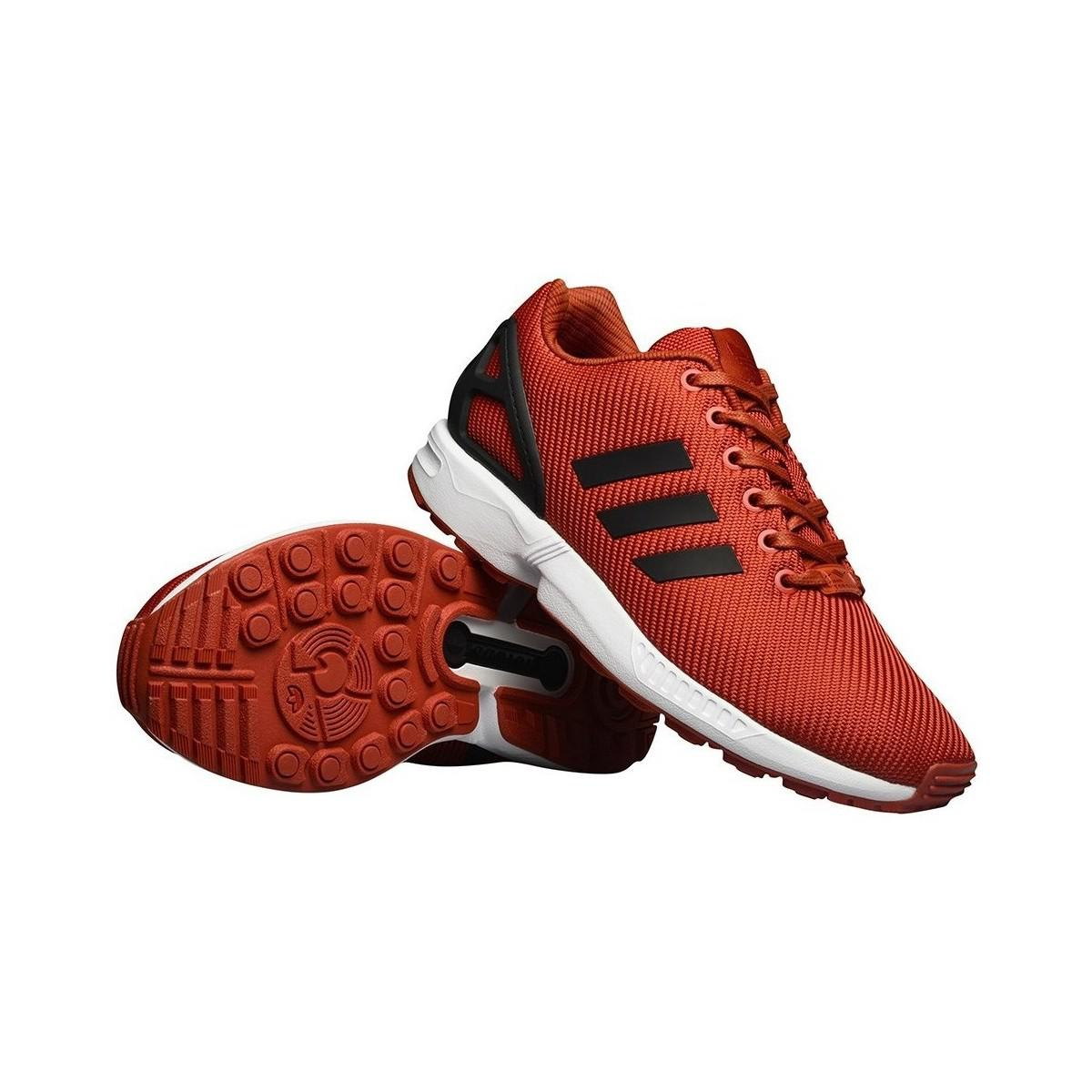 4817979c8 Adidas Zx Flux Craft Chili Men s Shoes (trainers) In Black in Black ...