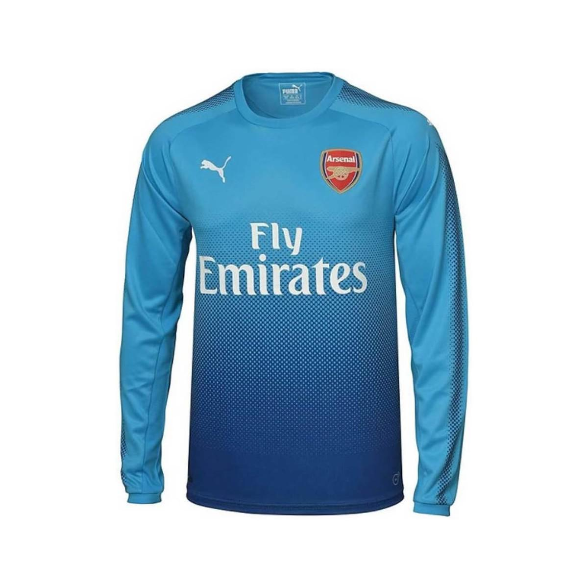 Puma 2017-2018 Arsenal Away Long Sleeve Shirt (wilshere 10) Men s In ... 0d7e7db10