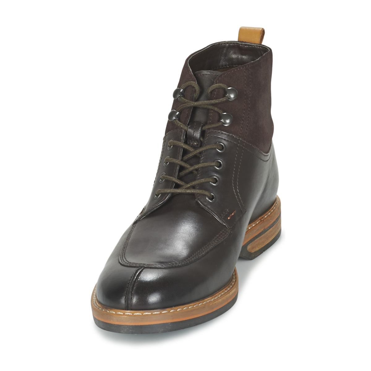 5b1fdeaebaac Clarks Pitney Hi Men s Mid Boots In Brown in Brown for Men - Lyst
